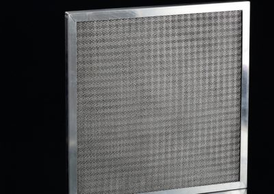 stainless steel knitted wire mesh framed filter