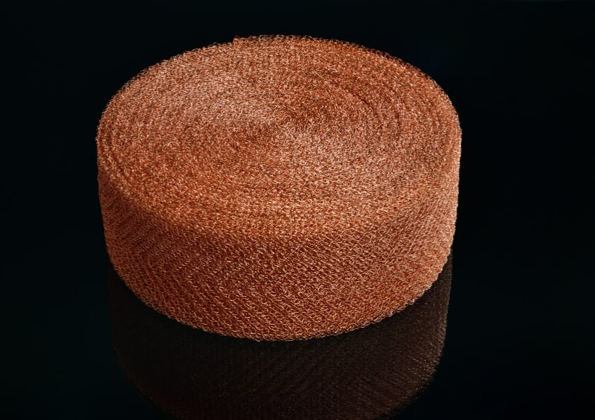 knitted wire copper pad